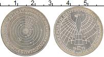 Изображение Монеты ФРГ 5 марок 1973 Серебро UNC- Николай Коперник, J