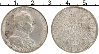 Изображение Монеты Пруссия 2 марки 1913 Серебро XF А Вильгельм II