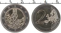 Изображение Монеты Эстония 2 евро 2019 Биметалл UNC 150 лет первого фест