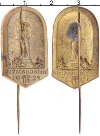 Изображение Монеты Веймарская республика Значок 1925 Латунь XF Знак ТD