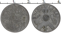 Изображение Монеты Нидерланды 2 1/2 цента 1941 Цинк XF
