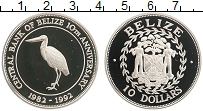 Продать Монеты Белиз 10 долларов 1992 Серебро