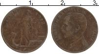 Изображение Монеты Италия 1 чентезимо 1912 Бронза XF Виктор Эммануил III