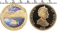 Продать Монеты Остров Святой Елены 25 пенсов 2013 Латунь