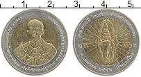 Изображение Монеты Таиланд 10 бат 2009 Биметалл UNC- 100 лет командно-шта