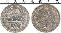 Изображение Монеты Иран 5000 динар 1902 Серебро XF Герб