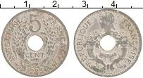 Изображение Монеты Индокитай 5 сантим 1923 Медно-никель XF-