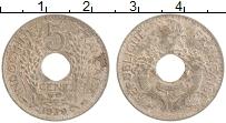 Изображение Монеты Индокитай 5 сантим 1939 Медно-никель XF-