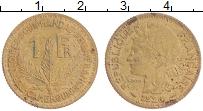 Изображение Монеты Камерун 1 франк 1926 Латунь XF-