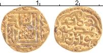 Изображение Монеты Золотая Орда 1 динар 1379 Золото XF Династия Суфиев. Кун