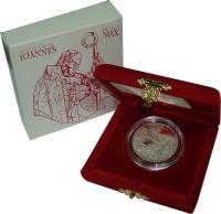 Изображение Подарочные монеты Ватикан 2000 лир 2001 Серебро Proof Набор посвящён понти