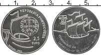 Изображение Монеты Португалия 2 1/2 евро 2011 Медно-никель UNC Университет в Лисабо