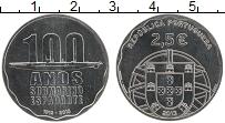 Изображение Монеты Португалия 2 1/2 евро 2013 Медно-никель UNC 100 лет первой порту