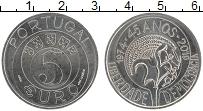 Изображение Монеты Португалия 5 евро 2019 Медно-никель UNC 45 лет революции гво