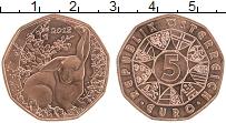 Продать Монеты Австрия 5 евро 2018 Медь