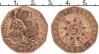 Изображение Монеты Австрия 5 евро 2019 Медь UNC Весеннее пробуждение