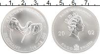 Продать Монеты Замбия 5000 квач 2002 Серебро