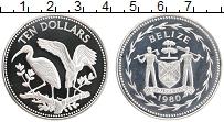 Продать Монеты Белиз 10 долларов 1980 Медно-никель