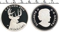Изображение Монеты Канада 20 долларов 2014 Серебро Proof