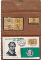 Изображение Подарочные монеты Италия Медаль 1967 Серебро Proof-