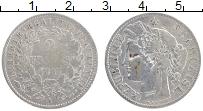 Изображение Монеты Франция 2 франка 1887 Серебро VF