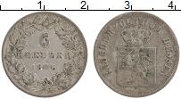 Изображение Монеты Гессен-Дармштадт 6 крейцеров 1846 Серебро XF Людвиг II