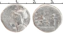 Изображение Монеты Древний Рим 1 денарий 0 Серебро VF Рим. Республика. Ано