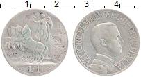 Изображение Монеты Италия 1 лира 1909 Серебро XF Виктор Эммануил III