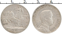 Изображение Монеты Италия 1 лира 1910 Серебро XF Виктор Эммануил III