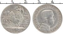Изображение Монеты Италия 1 лира 1912 Серебро XF Виктор Эммануил III