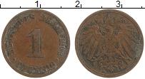 Изображение Монеты Германия 1 пфенниг 1902 Медь XF A