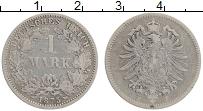 Изображение Монеты Германия 1 марка 1875 Серебро XF F