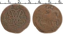 Продать Монеты 1762 – 1762 Петр III Федорович 2 копейки 1762 Медь