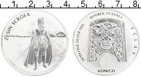 Изображение Монеты Южная Корея 1 унция 2019 Серебро UNC Скрофа