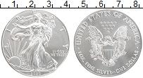 Изображение Монеты США 1 доллар 2020 Серебро UNC