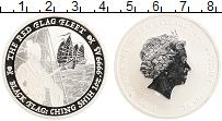 Изображение Монеты Тувалу 1 доллар 2021 Серебро Proof Елизавета II. Пираты