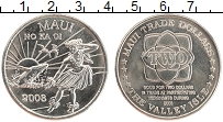 Изображение Монеты Гавайские острова 2 доллара 2008 Медно-никель UNC Остров Мауи. Торговы
