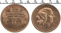 Изображение Монеты Германия Жетон 0 Бронза XF Фридрих Август Штюле