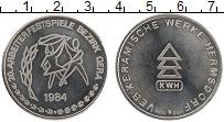 Изображение Монеты ГДР Жетон 1984 Медно-никель UNC- Округ Гера