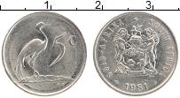 Изображение Монеты ЮАР 5 центов 1981 Медно-никель XF