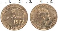 Изображение Монеты Дания 20 крон 2013 Бронза UNC Маргрете II. Астроно