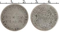 Изображение Монеты Саксония 1/12 талера 1763 Серебро VF