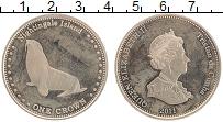 Изображение Монеты Тристан-да-Кунья 1 крона 2011 Медно-никель UNC- Елизавета II