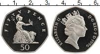 Изображение Монеты Великобритания 50 пенсов 1996 Медно-никель Proof- Елизавета II