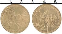 Изображение Монеты Польша 2 злотых 2012 Латунь UNC- Петр Михайловвский