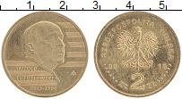 Изображение Монеты Польша 2 злотых 2013 Латунь UNC- Витольд Лютославский