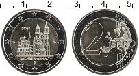 Изображение Мелочь Германия 2 евро 2021 Биметалл UNC D. Федеральные земли