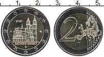 Изображение Мелочь Германия 2 евро 2021 Биметалл UNC G. Федеральные земли
