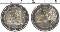 Изображение Мелочь Германия 2 евро 2021 Биметалл UNC J. Федеральные земли