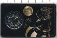 """Изображение Подарочные монеты Франция 2 евро 2019 Биметалл UNC 60 лет комикса """"Асте"""